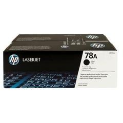 Картридж лазерный HP (CE278AF) LaserJet P1566/1606DN и др., №78А, КОМПЛЕКТ 2 шт., оригинальный, ресурс 2х2100 страниц
