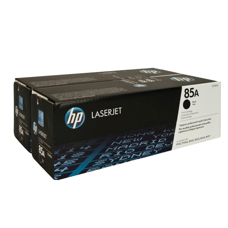 Картридж лазерный HP (CE285AF) LaserJet P1102/P1102W/M1212NF, №85А, комплект 2 шт., оригинальный, ресурс 2 х 1600 страниц