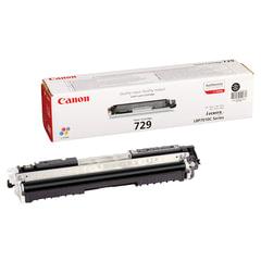 Картридж лазерный CANON (729BK) LBP7010C/7018C, черный, оригинальный, ресурс 1200 стр.