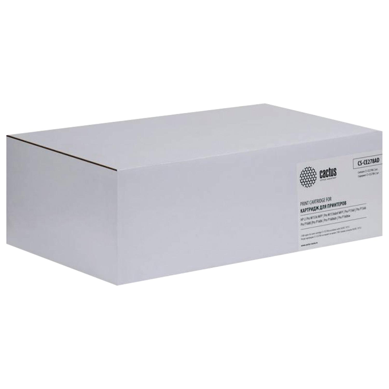 Картридж лазерный CACTUS (CS-CE278AD) для HP LaserJet P1566/1606DN, КОМПЛЕКТ 2 шт., ресурс 2х2100 страниц