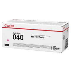 Картридж лазерный CANON (040M) i-SENSYS LBP710Cx/LBP712Cx, оригинальный, пурпурный, ресурс 5400 страниц