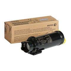 Картридж лазерный XEROX (106R03487) Phaser 6510/WC 6515, желтый, ресурс 2400 стр., оригинальный