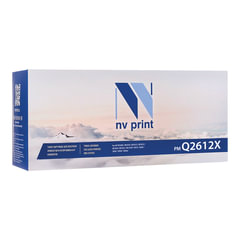 Картридж лазерный HP (Q2612X) LJ 1010/1012/1015/1020/1022/3015, ресурс 3500 стр., NV PRINT, совместимый