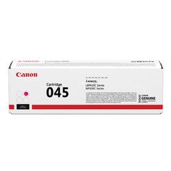 Картридж лазерный CANON (045M) MF635/633/631/LBP 611/613, пурпурный, ресурс 1300 стр., оригинальный