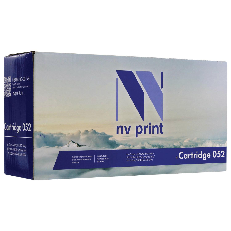Картридж лазерный NV PRINT (NV-052) для CANON MF421 / LBP212 /215, ресурс 3100 страниц