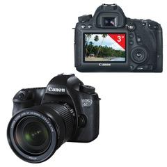 "Фотоаппарат зеркальный CANON EOS 6D 24-105мм IS STM, 20,2 Мп, 3"" ЖК-монитор, Full HD, Wi-Fi, GPS"