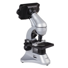 """Микроскоп учебный LEVENHUK D70L, 40-1600 кратный, цифровой, 3 объектива, цифровая камера 2 Мп, 3,6"""" ЖК-монитор, 14899"""
