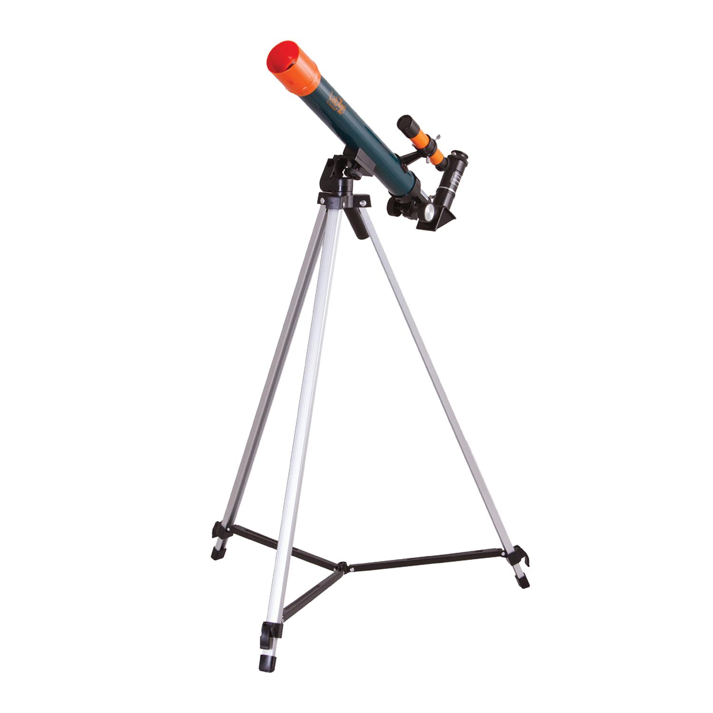 Телескоп LEVENHUK LabZZ T1, рефрактор, 3 окуляра, ручное управление, для начинающих, 69736