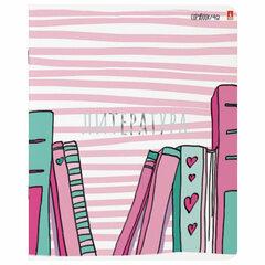 Тетрадь предметная GIRLS ONLY 48 листов, Soft Touch, фольга, ЛИТЕРАТУРА, линия, АЛЬТ, 7-48-1102/02