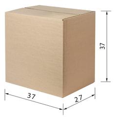 Гофроящик, длина 370 х ширина 270 х высота 370 мм, марка Т22, профиль В, FEFCO 0201 / ГОСТ, исполнение А, 440056