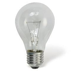 Лампа накаливания OSRAM Classic A CL E27, 60 Вт, грушевидная, прозрачная, колба d=60 мм, цоколь d=27 мм