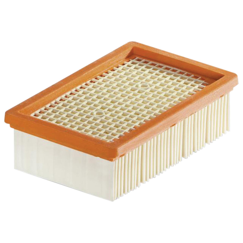 Фильтр для пылесоса KARCHER (КЕРХЕР), плоский складчатый, для моделей WD4-WD6, 2.863-005.0