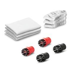 Набор аксессуаров для пароочистителя KARCHER (КЕРХЕР), 10 предметов, универсальный, 2.863-215.0