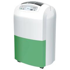 Осушитель воздуха BALLU BDH-30L, дисплей, мощность 530 Вт, бак 6,5 л, площадь помещения 30 м2, белый/зеленый