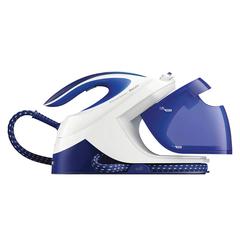 Парогенератор PHILIPS GC8712/20, 3000 Вт, 6 Бар, пар 120 г/мин, паровой удар 360 г/мин, 1,8 л, синий