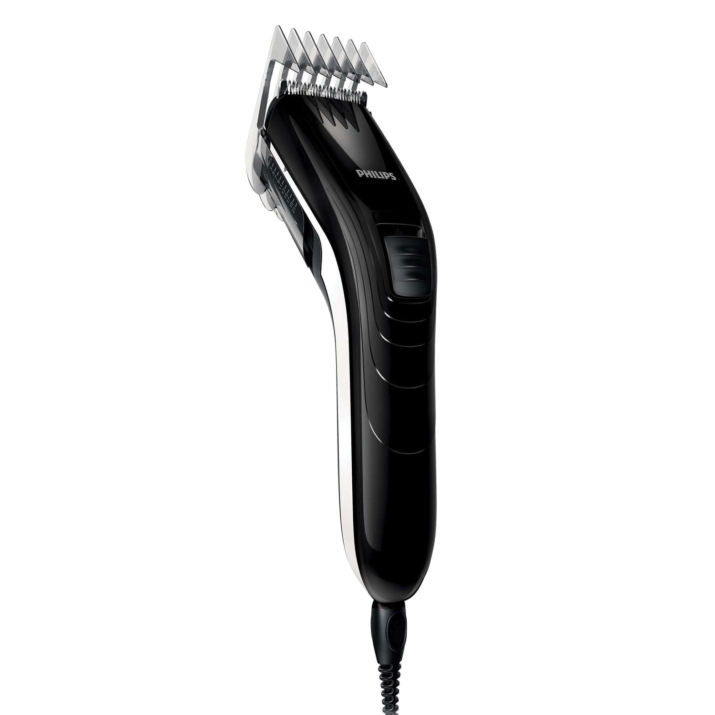 Машинка для стрижки волос PHILIPS QC5115/15, 11 установок длины, сеть, черная