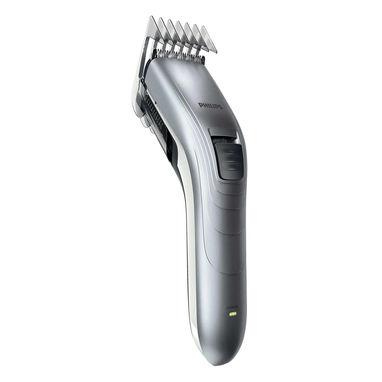 Машинка для стрижки волос PHILIPS QC5130/15, 11 установок длины, аккумулятор, серая