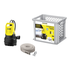 Комплект для дренажа KARCHER SP5 Dirt, для грязной воды, 500 Вт, 9500 л/ч., автоматический режим, 1.645-507.0