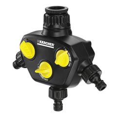 Распределитель KARCHER (КЕРХЕР) трехканальный, регулировка потока воды, пластик, 2.645-200.0
