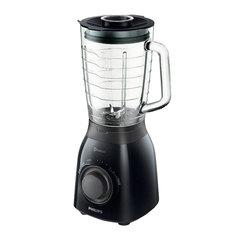 Блендер стационарный PHILIPS HR2173/90, 600 Вт, 7 скоростей, чаша 2 л, пластик, черный