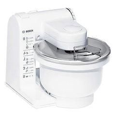 Кухонная машина BOSCH MUM4406, 500 Вт, 4 скорости, мясорубка, 6 насадок, белая