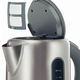Чайник BOSCH TWK7901, 1,7 л, 2200 Вт, закрытый нагревательный элемент, нержавеющая сталь, серебристый