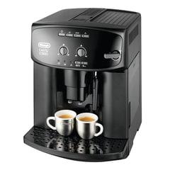 Кофемашина DELONGHI ESAM 2600, 1350 Вт, объем 1,7 л, емкость для зерен 200 г, ручной капучинатор, черная