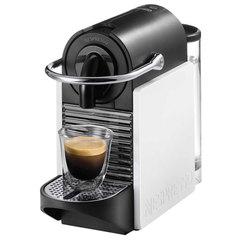 Кофемашина капсульная DELONGHI Nespresso EN 126, 1260 Вт, объем 0,7 л, белая + капсулы на 16 чашек