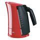 Чайник BRAUN WK-300.RED, 1,7 л, 2200 Вт, скрытый нагревательный элемент, пластик, красный/серый