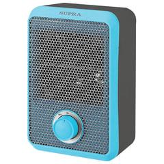 Тепловентилятор SUPRA TVS-F08, 800 Вт, 1 режим работы, синий/серый