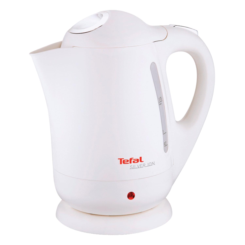 Чайник TEFAL BF925132, 1,7 л, 2400 Вт, закрытый нагревательный элемент, пластик, белый