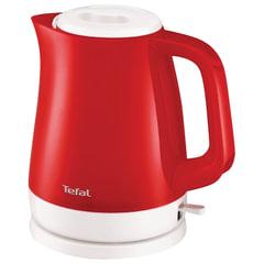 Чайник TEFAL KO151530, 1,5 л, 2400 Вт, закрытый нагревательный элемент, пластик, красный