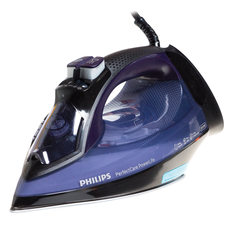 Утюг PHILIPS GC3925/30, 2500 Вт, антипригарное покрытие, автоотключение, самоочистка, антикапля, синий/черный