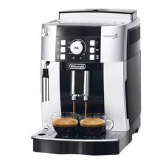 Кофемашина DELONGHI ECAM 21.117.SB, 1450 Вт, объем 1,8 л, емкость для зерен 250 г, ручной капучинатор, серебристая
