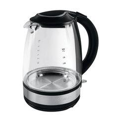 Чайник SCARLETT SC-EK27G31, 1,7 л, 2200 Вт, закрытый нагревательный элемент, стекло