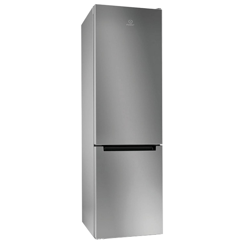 Холодильник INDESIT DFE4200S, общий объем 324 л, нижняя морозильная камера 75 л, 60х64х200 см, серебристый