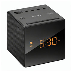 Часы-радиобудильник SONY ICF-C1, LED-дисплей, AM/FM-диапазон, 2 вида сигнала, повтор, таймер
