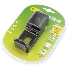 Зарядное устройство GP PB330, для 2-х аккумуляторов AA или ААА, PB330GSC-2CR1