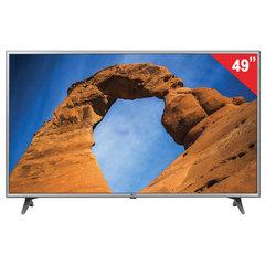 "Телевизор LG 49LK6100, 49"" (124 см), 1920x1080, Full HD, 16:9, Smart TV, Wi-Fi, серый"