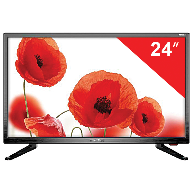 Телевизор TELEFUNKEN TF-LED24S37T2 24'' (60 см), 1366х768, HD, 16:9, черный