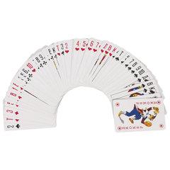 Карты игральные, 54 карты, с пластиковым покрытием, ЗОЛОТАЯ СКАЗКА