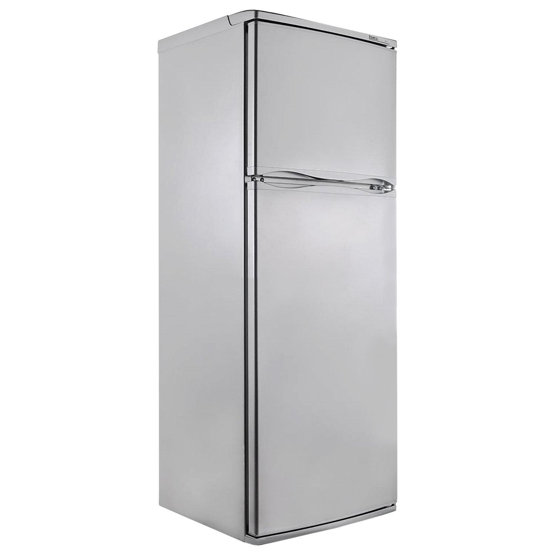 Холодильник ATLANT МХМ 2835-08, двухкамерный, объем 280 л, верхняя морозильная камера 70 л, серебро