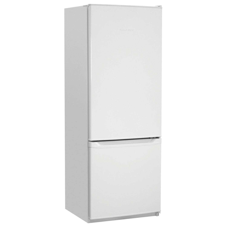 Холодильник NORDFROST NRB 137 032, двухкамерный, объем 264 л, нижняя морозильная камера 70 л, белый