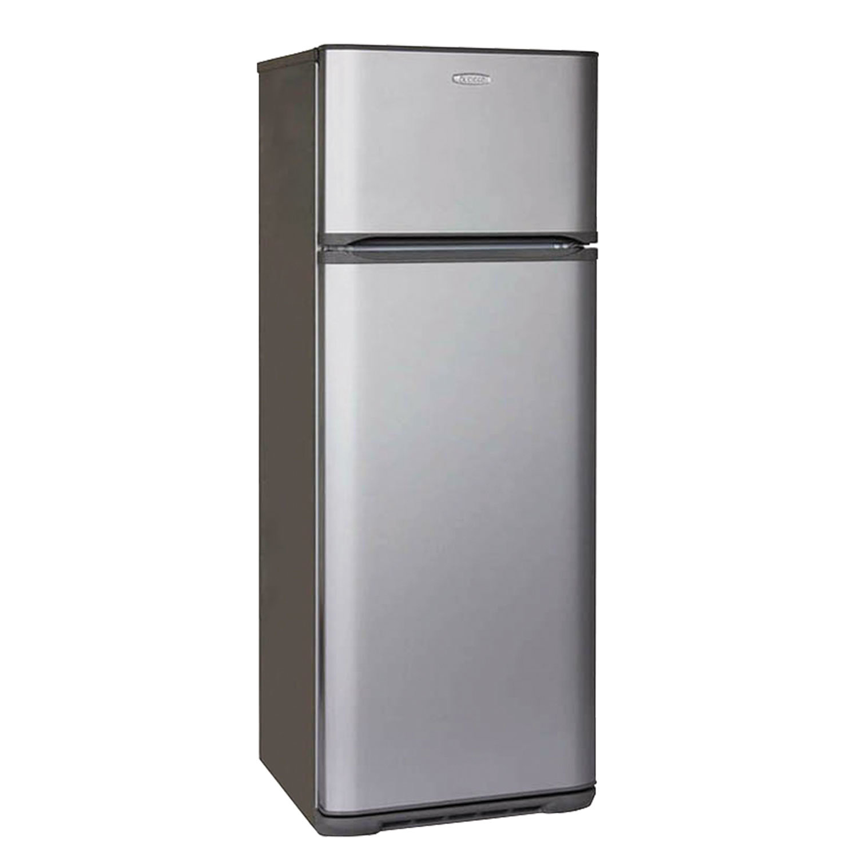 Холодильник БИРЮСА M135, двухкамерный, объем 300 л, верхняя морозильная камера 60 л, серебро