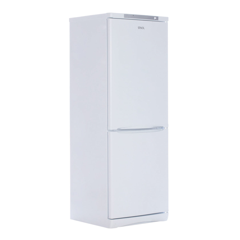 Холодильник STINOL STS 167, общий объем 299 л, нижняя морозильная камера 104 л, 60x62x167 см, белый