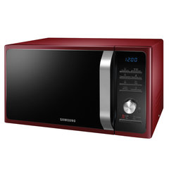 Микроволновая печь SAMSUNG MS23H3115QR/BW, объем 23 л, мощность 800 Вт, электронное управление, красная