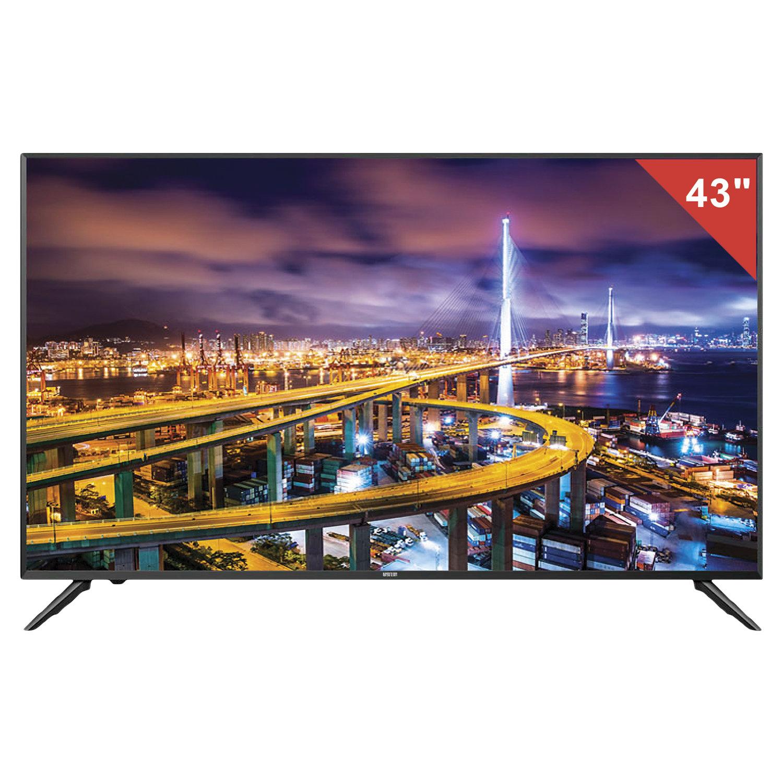 Телевизор MYSTERY MTV-4333LT2, 43'' (108 см), 1920х1080, Full HD, 16:9, черный