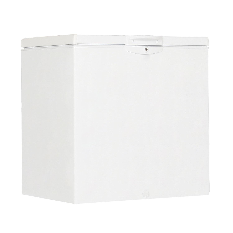 Морозильный ларь INDESIT RCF 200, общий объем 200 л, статическая система охлаждения, 86,5х80,63х64,2 см, белый