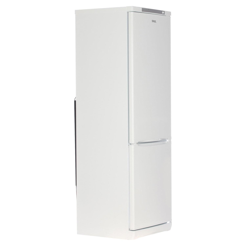 Холодильник STINOL STS 185, общий объем 339 л, нижняя морозильная камера 104 л, 60x62x185 см, серебристый