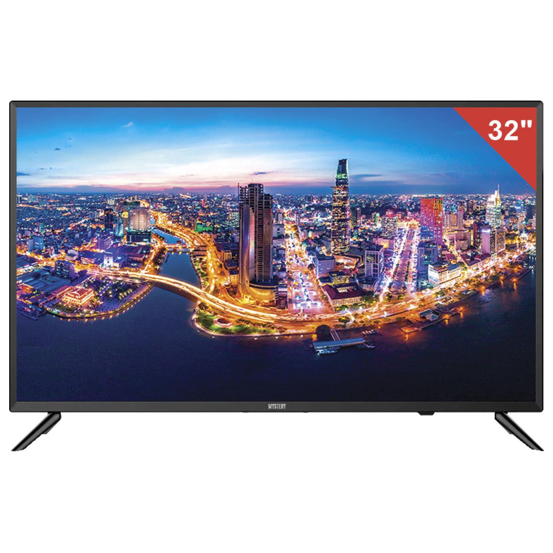 "Телевизор MYSTERY MTV-3234LTA2, 32"" (81 см), 1366х768, HD, 16:9, Smart TV, Android, Wi-Fi, черный"